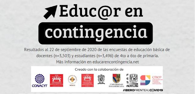 #EducarEnContingencia Estudiantes de primaria añoran asistir a sus escuelas
