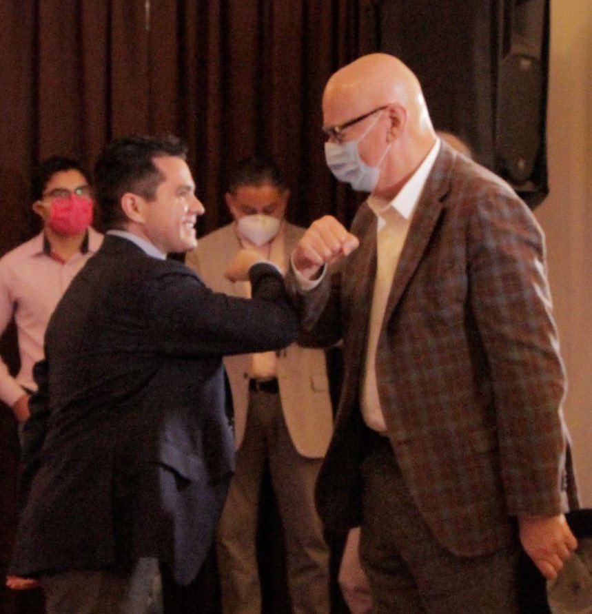 Chelo García: decidido para construir una ruta ciudadana