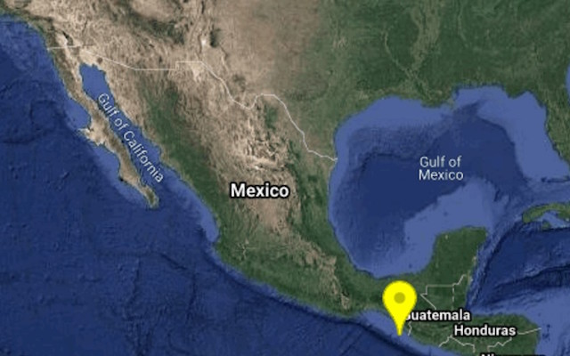 A primera hora de este 19S, temblor de 4.6 en Chiapas: Sismológico Nacional