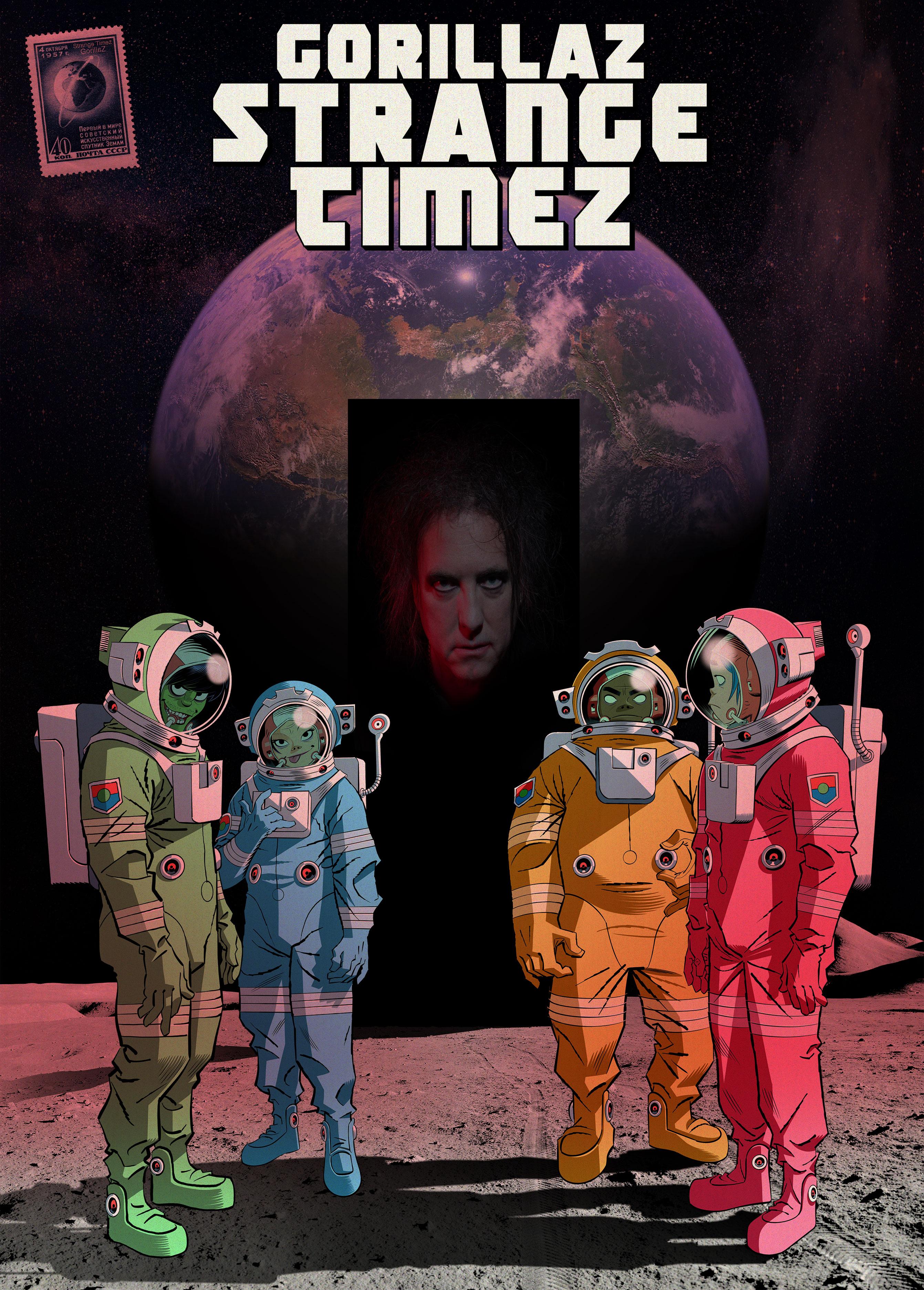"Gorillaz lanza ""ONG Machine: Season One – Strange Timez"" el próximo 23 de octubre"