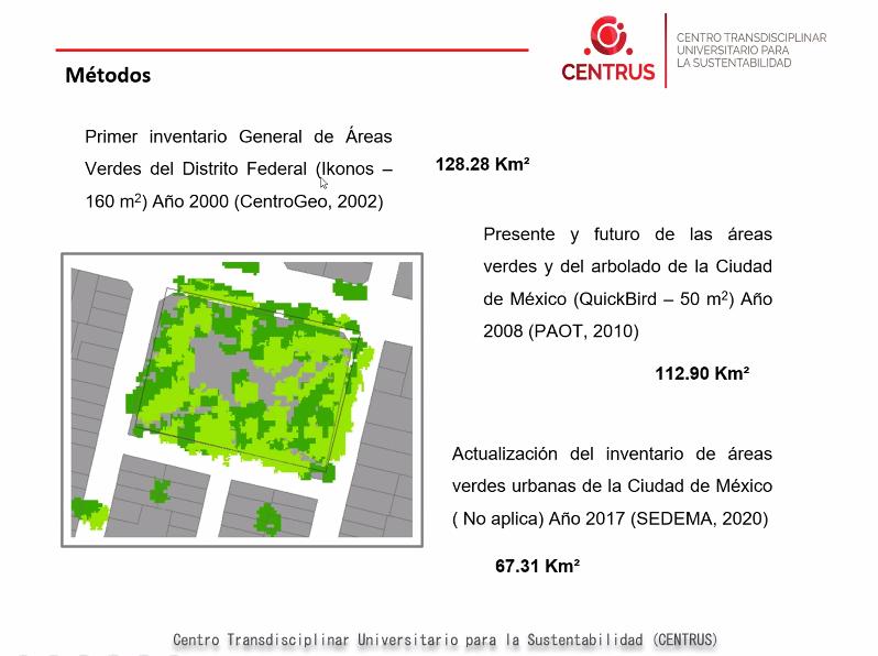 #ESTUDIO En ocho años, CDMX perdió 18.7 km de áreas verdes: Centrus