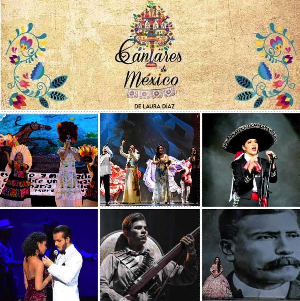 Gran Presentación de Cantares de México de Laura Díaz  este 15 de septiembre a las 11:05 PM por Streaming En Vivo.