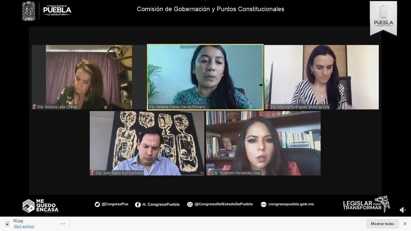 Aprueban en comisiones el reconocimiento de los matrimonios igualitarios en Puebla