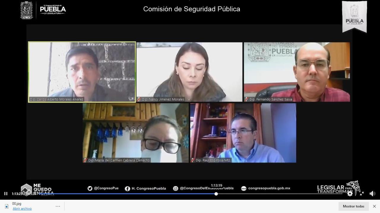 Diputados de Morena rechazan que el gobierno estatal asuma la seguridad en San Martín Texmelucan