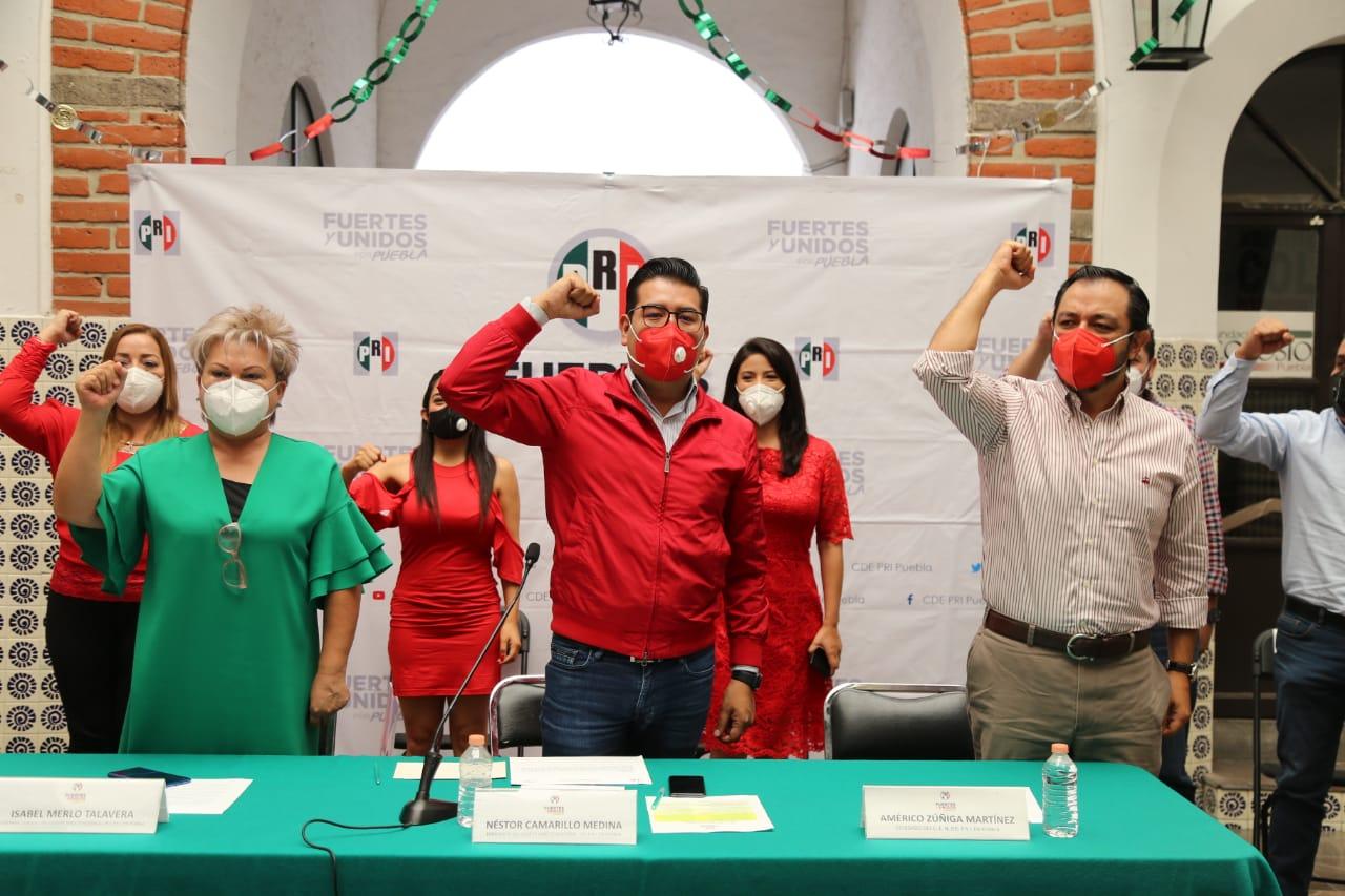 8 priístas buscan la alcaldía capitalina: Néstor Camarillo