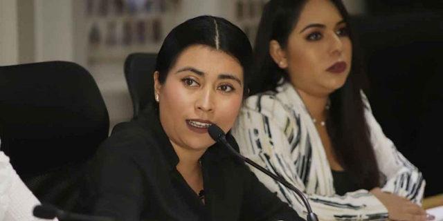 Cuestion Nora Merino falta de bacheo en la capital poblana