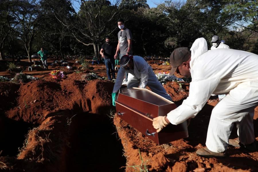 Brasil vuelve a registrar más de mil muertes por COVID-19 en 24 horas