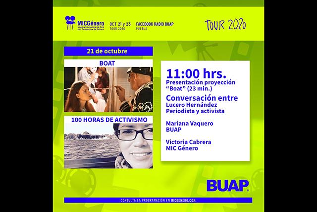 Muestra Internacional de Cine con Perspectiva de Género en la BUAP