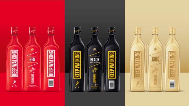 Johnnie Walker reinventa el diseño de sus más icónicos whiskies en una nueva edición limitada por su 200 aniversario