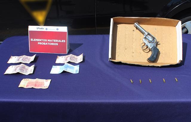¡Resultados contundentes! desarticuló policía municipal de Puebla a banda presuntamente dedicada al robo a transeúnte