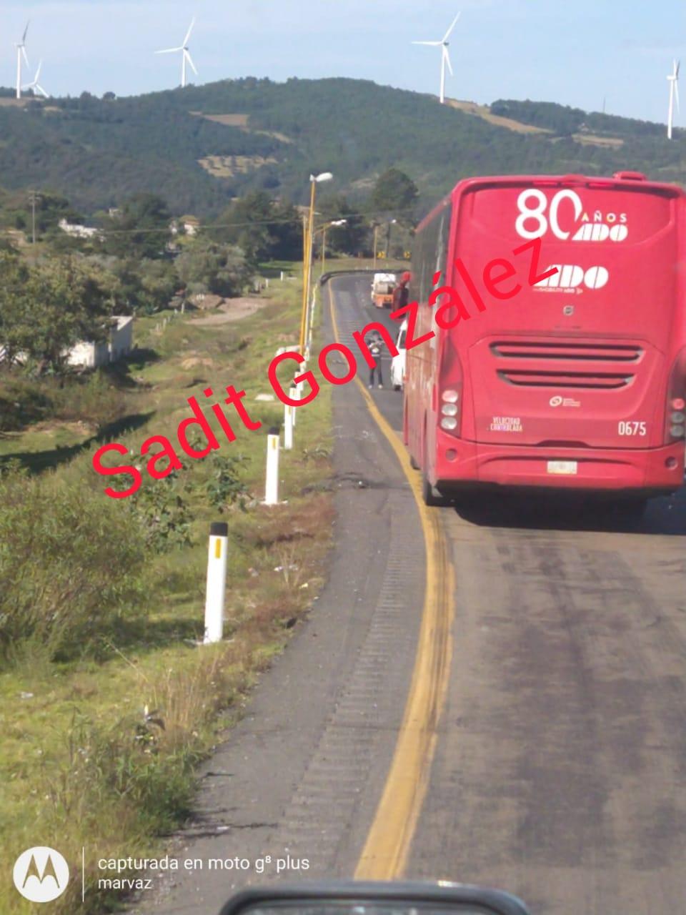 Con R15 asaltan a automovilistas en la Puebla-Orizaba