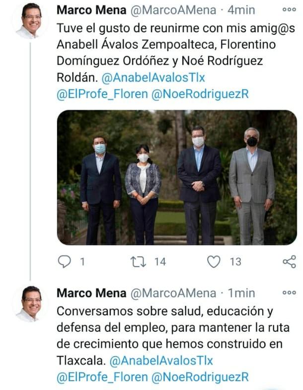 Desde Tlaxcala: En sábado, Marco Mena encabeza reunión con priístas mencionados como aspirantes a la gubernatura