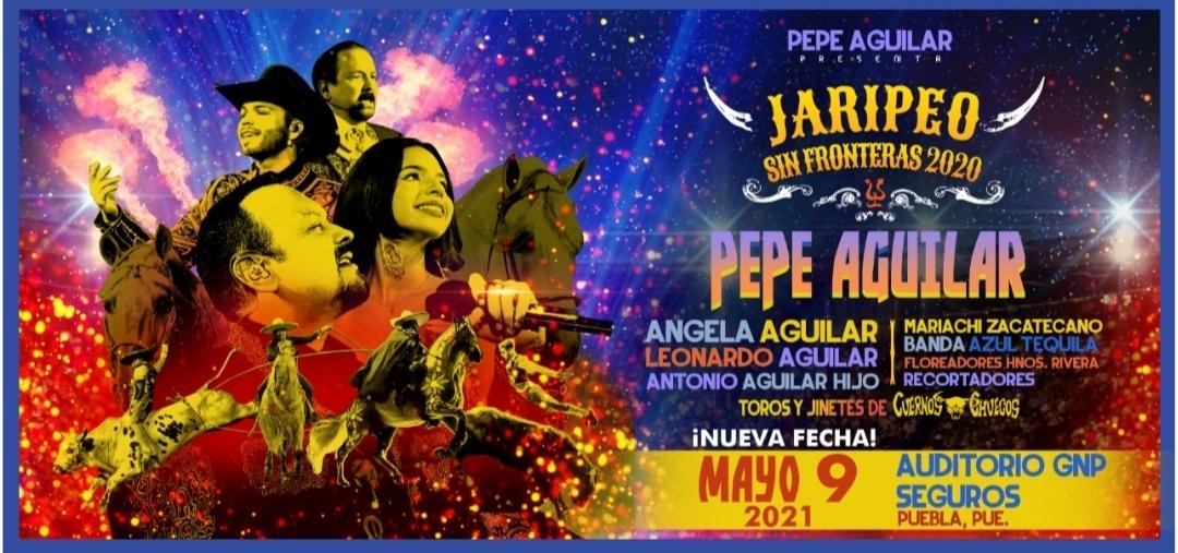 """""""Jaripeo Sin Fronteras"""" de Pepe Aguilar se efectuará el 9 de mayo de 2021 en el Auditorio GNP Seguros"""