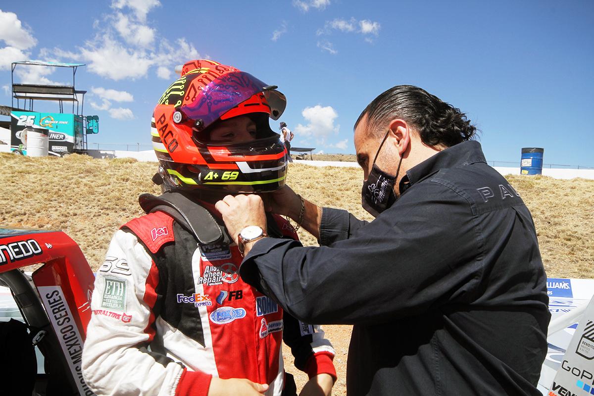 Rescata Paco Ablanedo un Top Ten en el San Luis Potosí