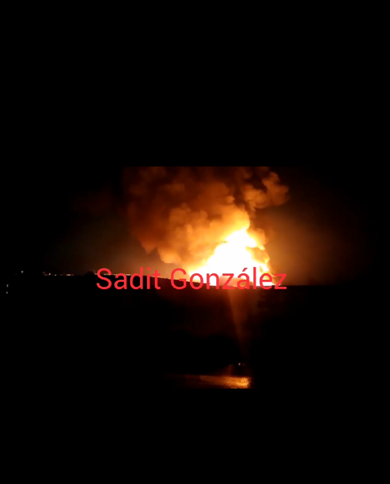 Incendio en fábrica ubicada en parque industrial Chachapa