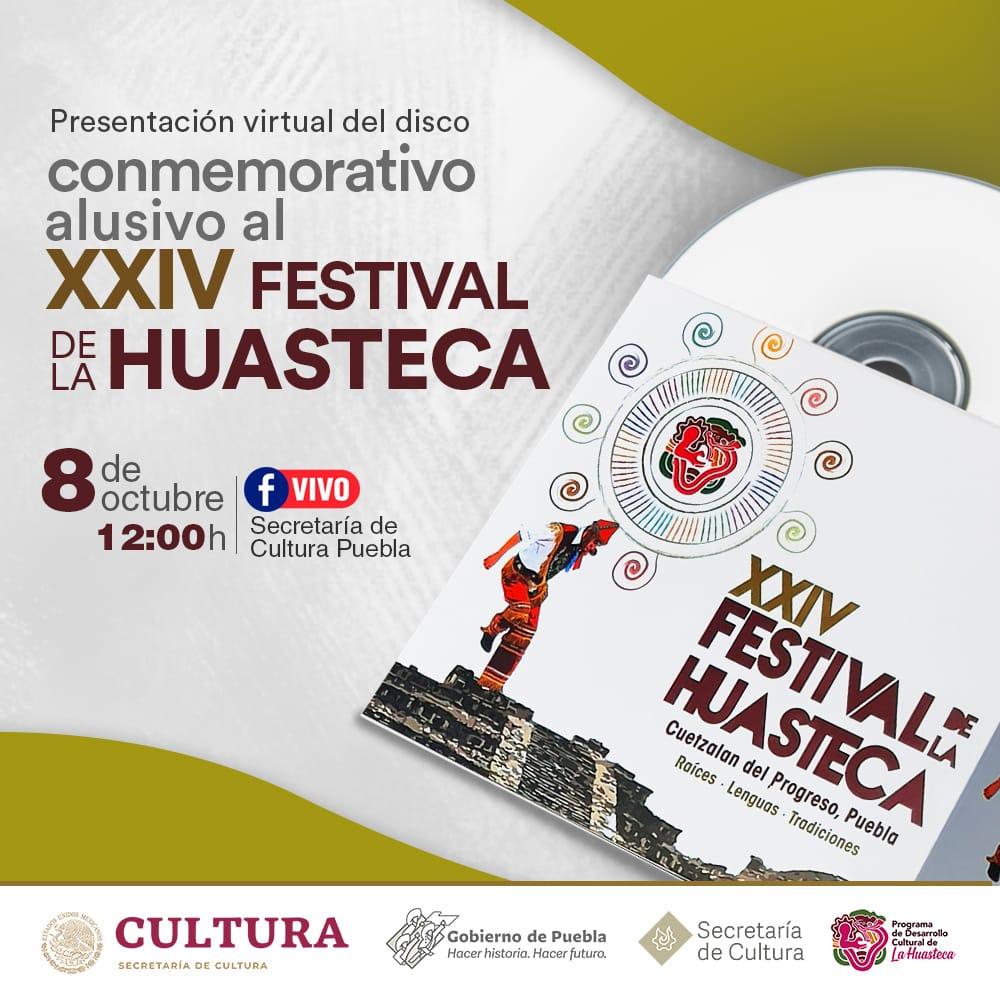 Disco conmemorativo del Festival de la Huasteca