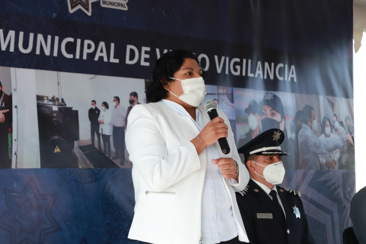 Desde San Andrés Cholula: Karina Pérez inauguró el Sistema Municipal de Videovigilancia y el Centro Estratégico de Seguridad y Emergencia