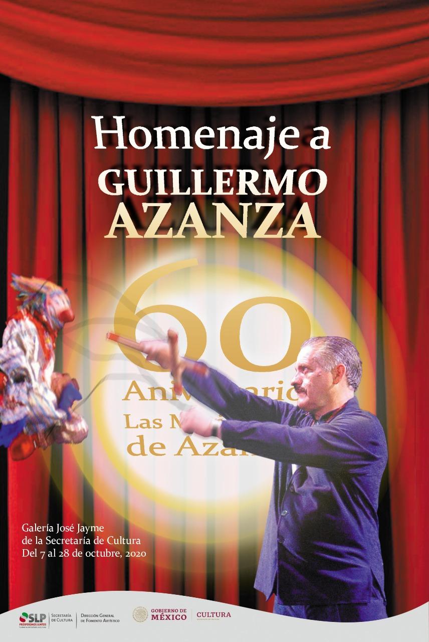 """Homenaje al Mtro. Azanza por su 60 aniversario """"Las Marionetas de Azanza"""""""
