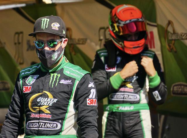 Hugo Oliveras y Pablo Pérez de Lara tuvieron una calificación satisfactoria y peleada