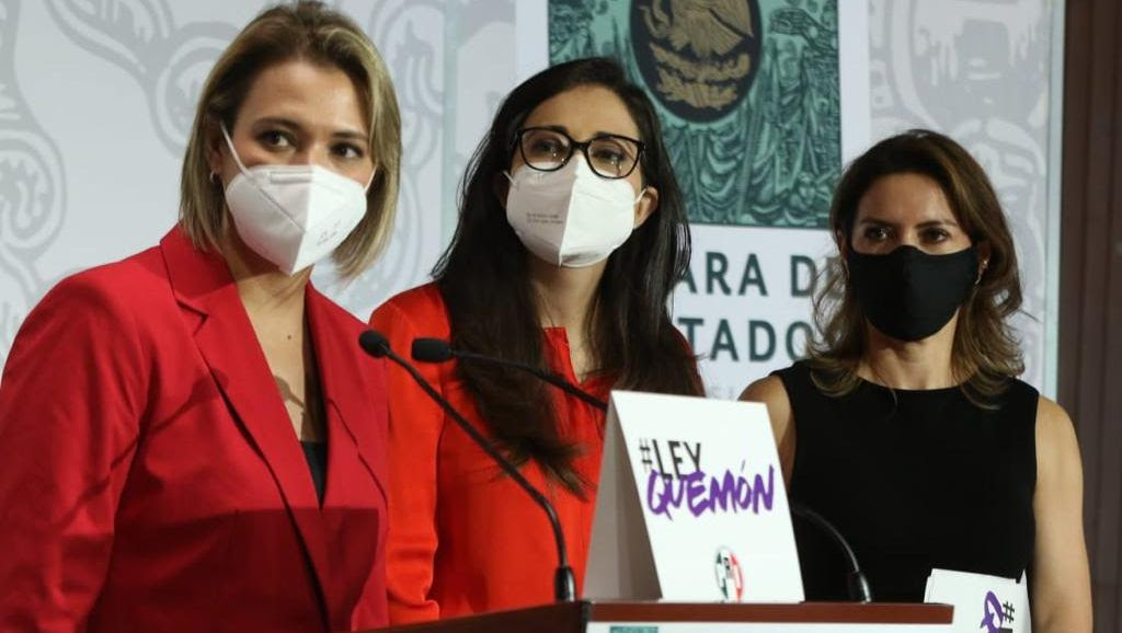 PRI presenta en cámara de diputados Ley Quemón