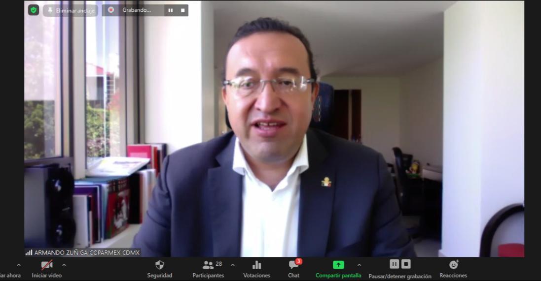 Propuestas COPARMEX CDMX para la reactivación económica de la Ciudad de México