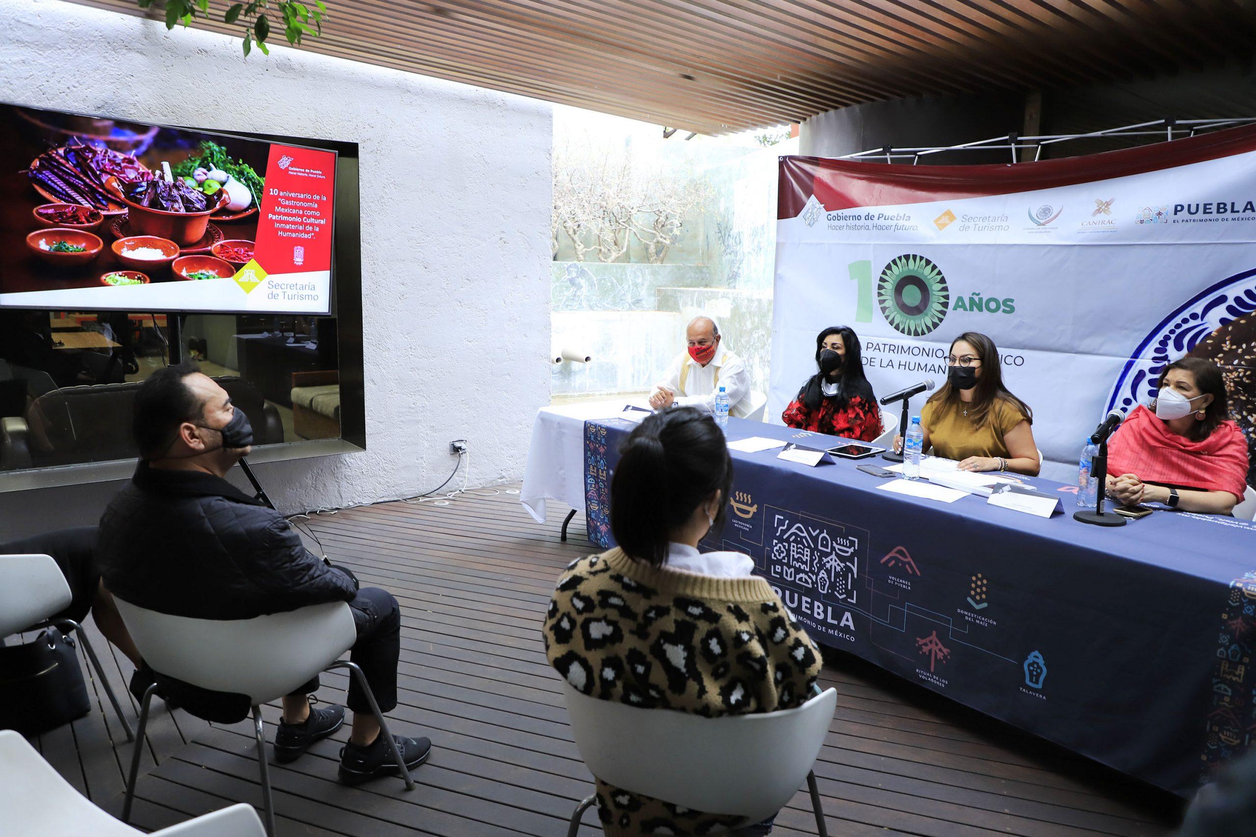 Celebrará Puebla 10 años de la inscripción de la Cocina Mexicana como Patrimonio Cultural