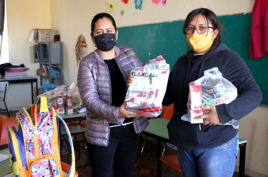 Finaliza SEPE distribución de útiles escolares a escuelas públicas de educación básica