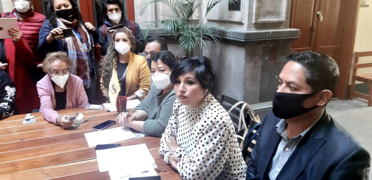 Roxana Luna se pronunció por candidaturas propias para el PRD en la elección del 2021