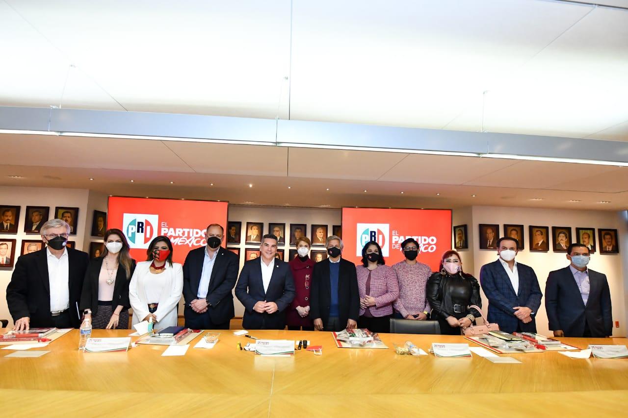 """El PRI Y """"Sí Por México"""" impulsan acuerdo para el 2021"""