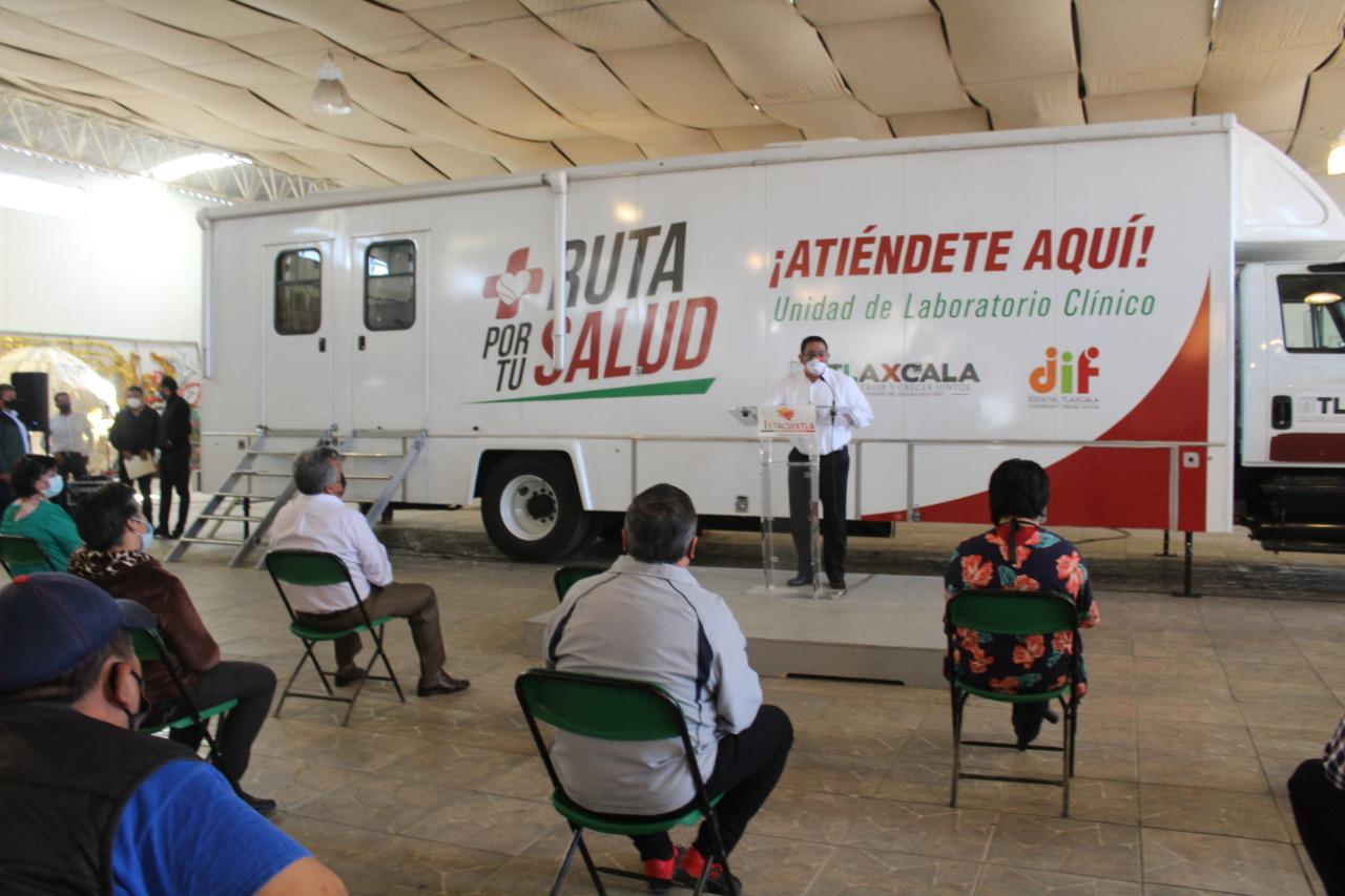 """Llega """"Ruta por tu Salud """" al municipio de Ixtacuixtla."""