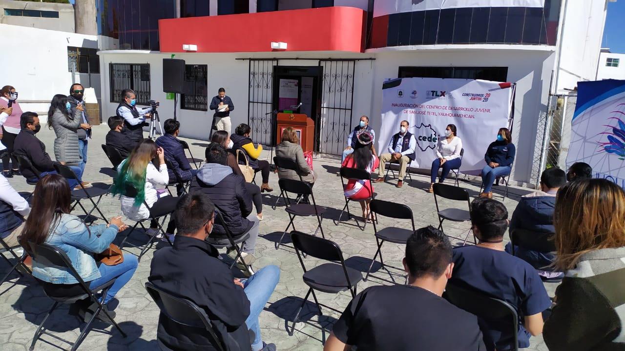 Abre ITJ centros de desarrollo juvenil en Yauhquemehcan.