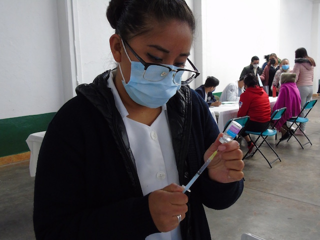 Desde Tlaxcala: Recibe SESA tercera remesa de vacunas contra la influenza