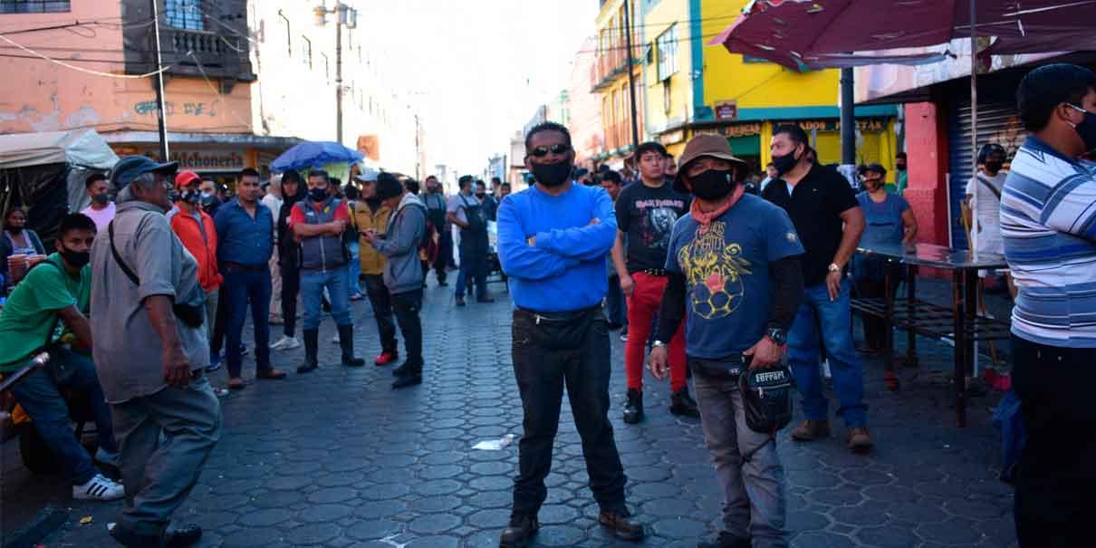 La organización de comerciantes ambulantes Fuerza 2000 denuncia agresiones
