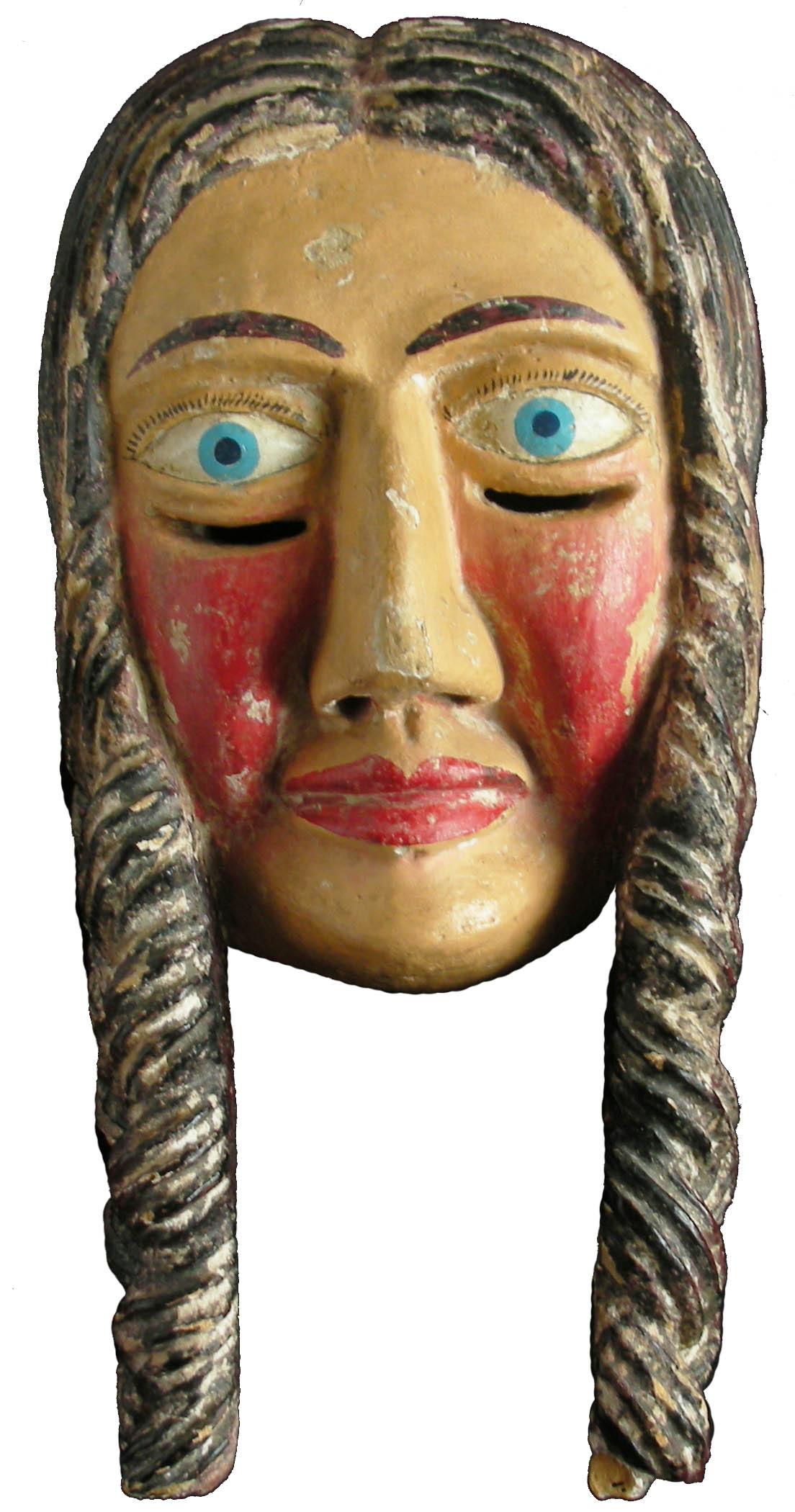 Máscaras de la Danza de la Conquista