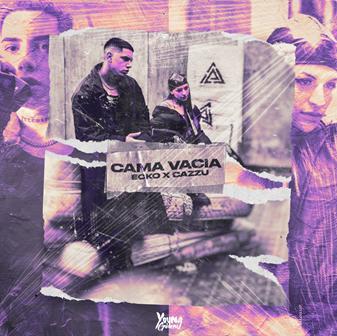 """Ecko lanzó """"Cama Vacía"""" a dueto con Cazzu"""