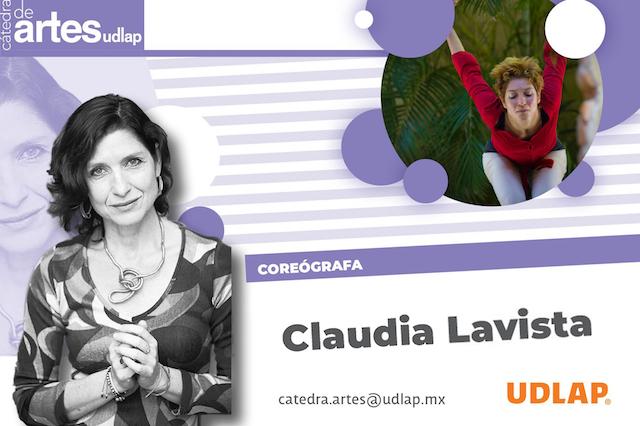 La bailarina Claudia Lavista comparte su labor artística en la Cátedra de Artes UDLAP