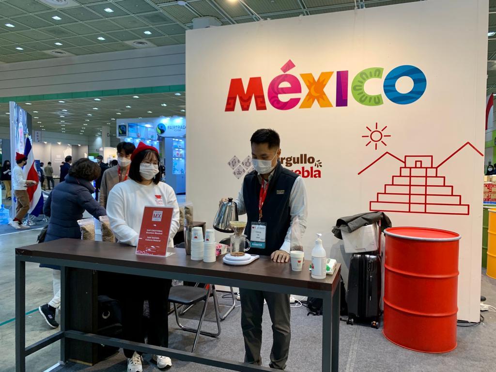 Participa Puebla en el Café Show 2020 de Corea del Sur