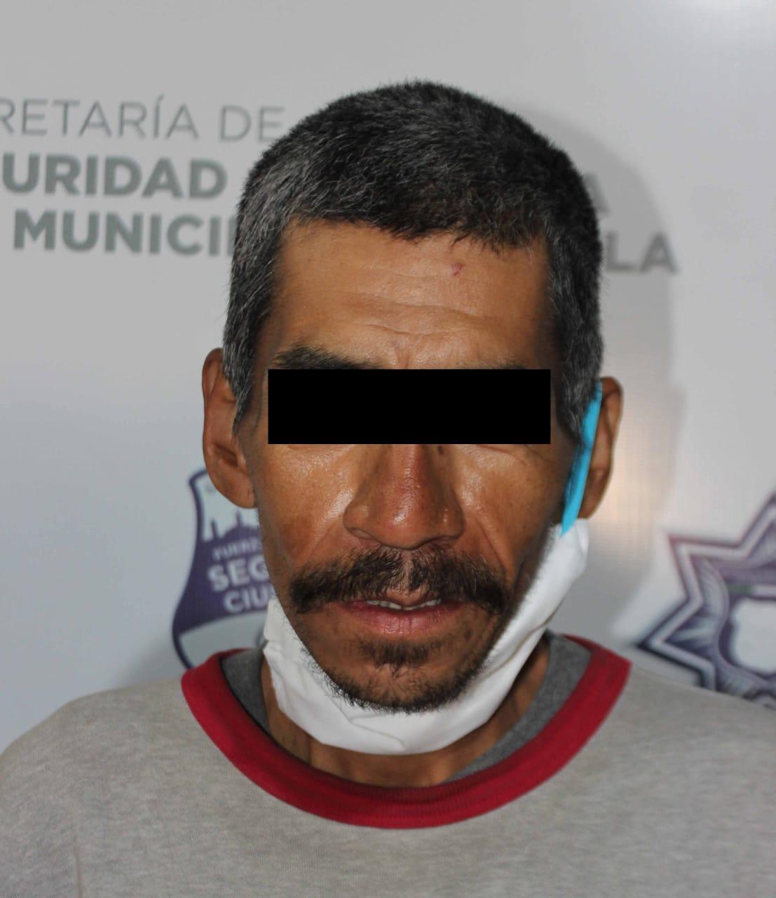 Policía municipal atrapó a narcomenudista de la Romero Vargas