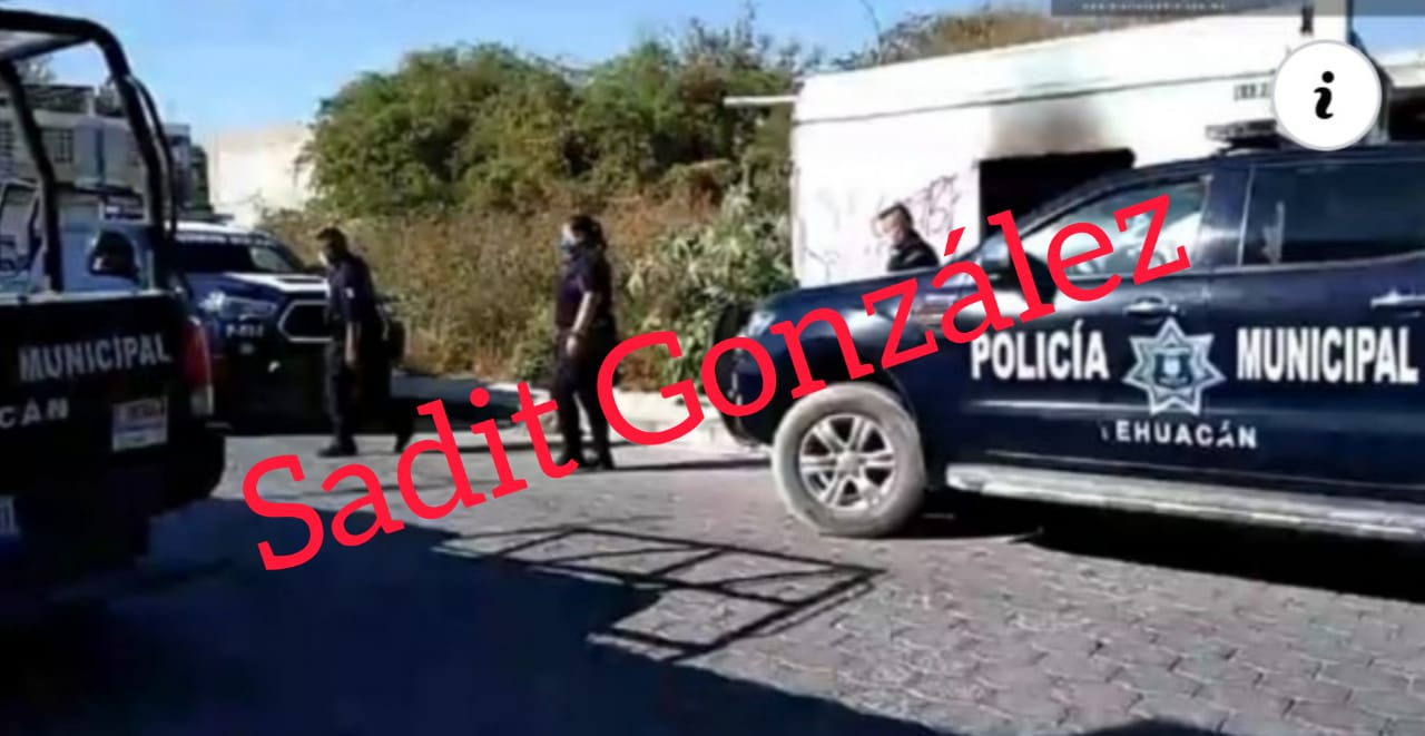 Hasta detrás de una escuela asesinan a un hombre en Tehuacán