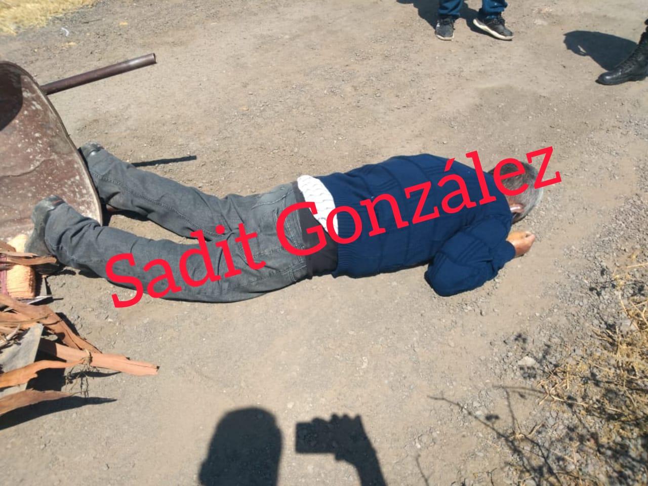 Hombre de 58 años sorprendido por la muerte en Lara Grajales