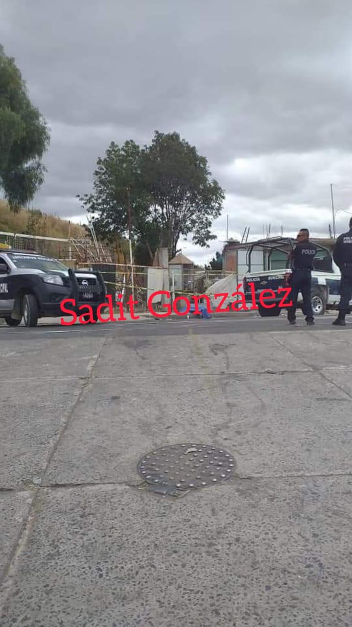 Fallece varón en la zona del tianguis de Texmelucan