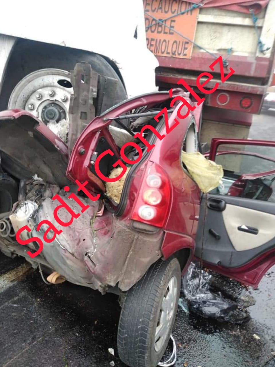 Fotonota: Grave accidente en las Cumbres de Maltrata