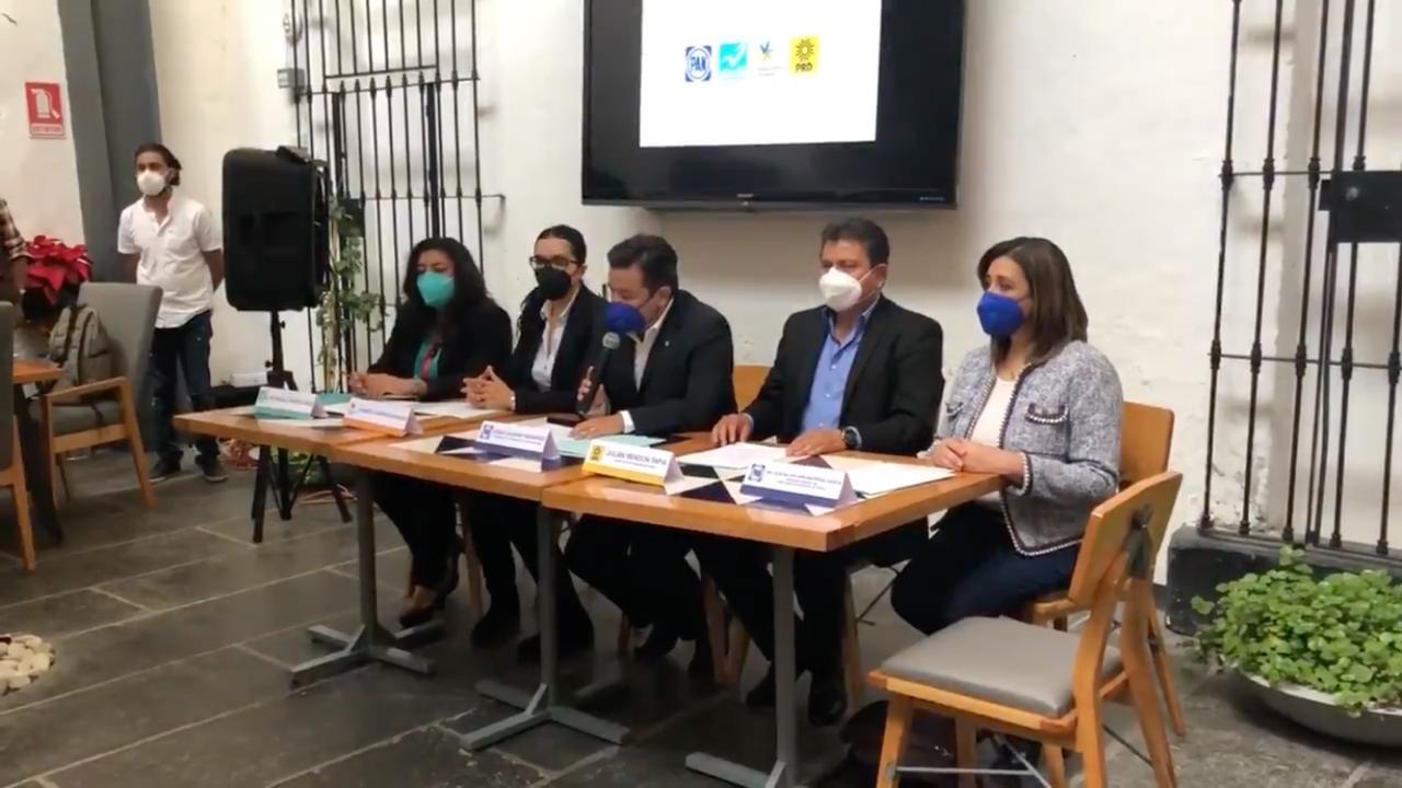 PAN, PRD, Nueva Alianza y Compromiso Por Puebla, realizarán mesas de trabajo de cara al 2021