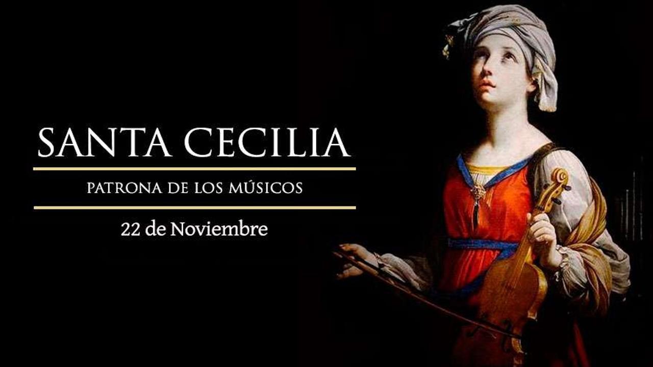 Santa Cecilia: patrona de los músicos: Mino D'Blanc