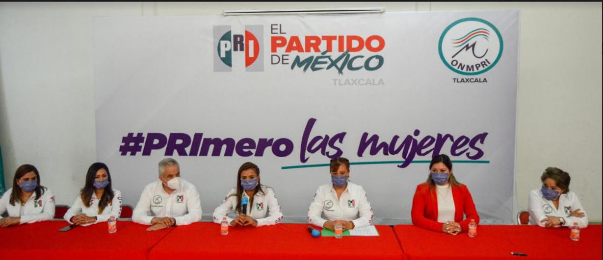 El PRI listo con sus cuadros femeninos para el 2021
