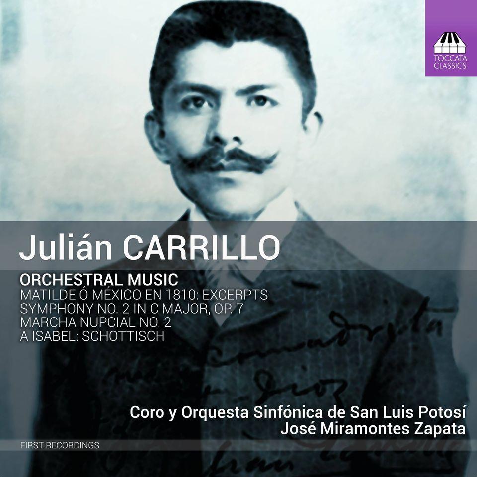 Toccata lanza material discográfico de la OSSLP con obras de Julián Carrillo