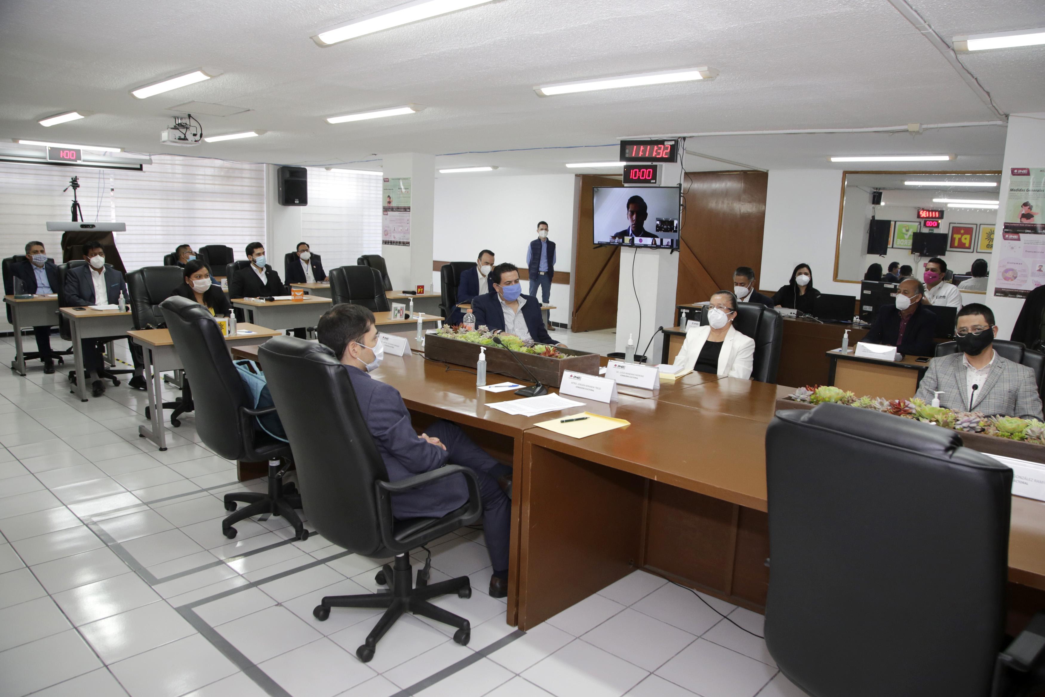 Privilegiará INE Puebla protocolos de seguridad e higiene en Proceso Electoral 2020-2021