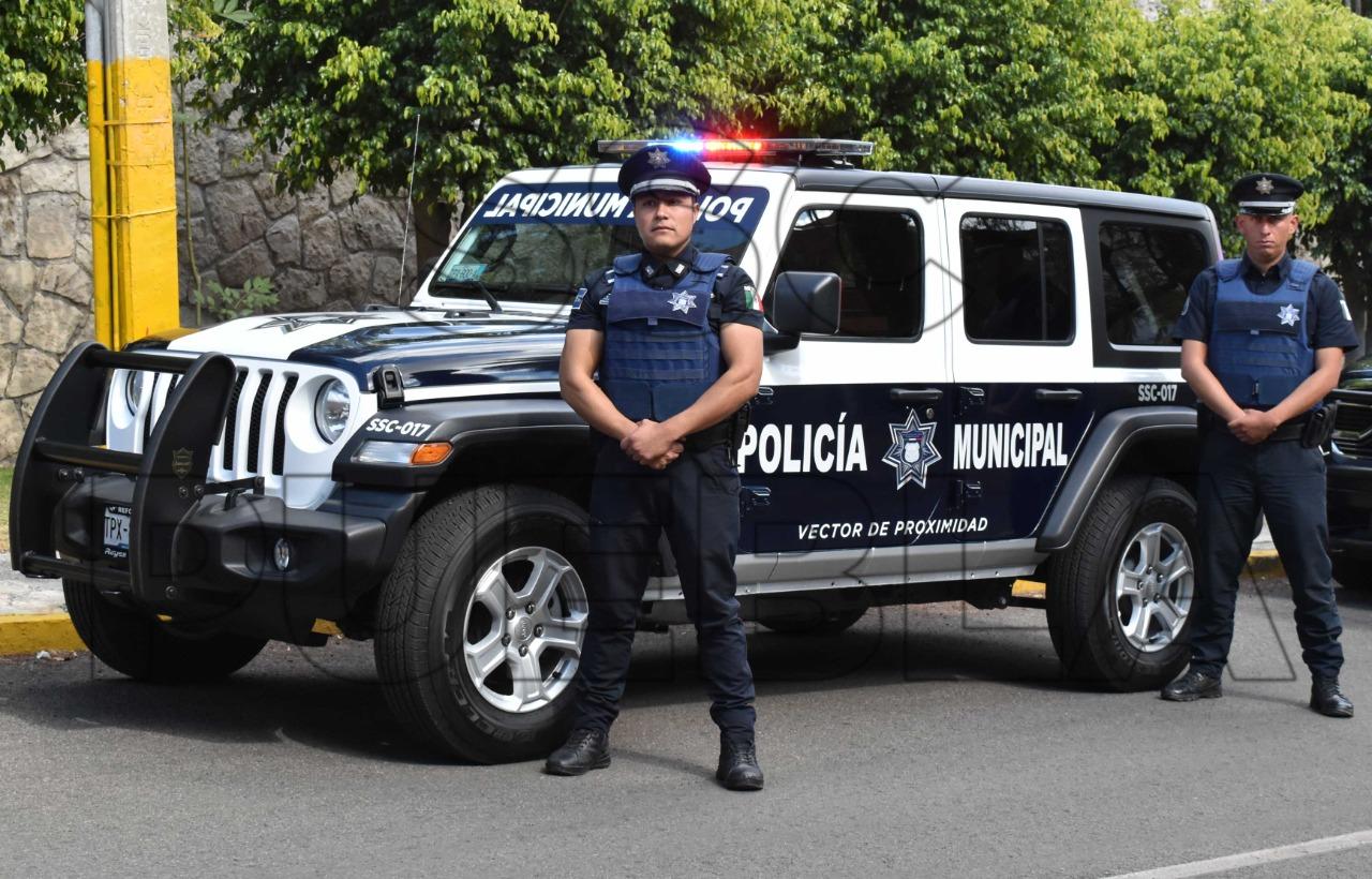 Con estrategia y determinación, detuvo Policía Municipal de Puebla A 97 personas en tan solo una semana