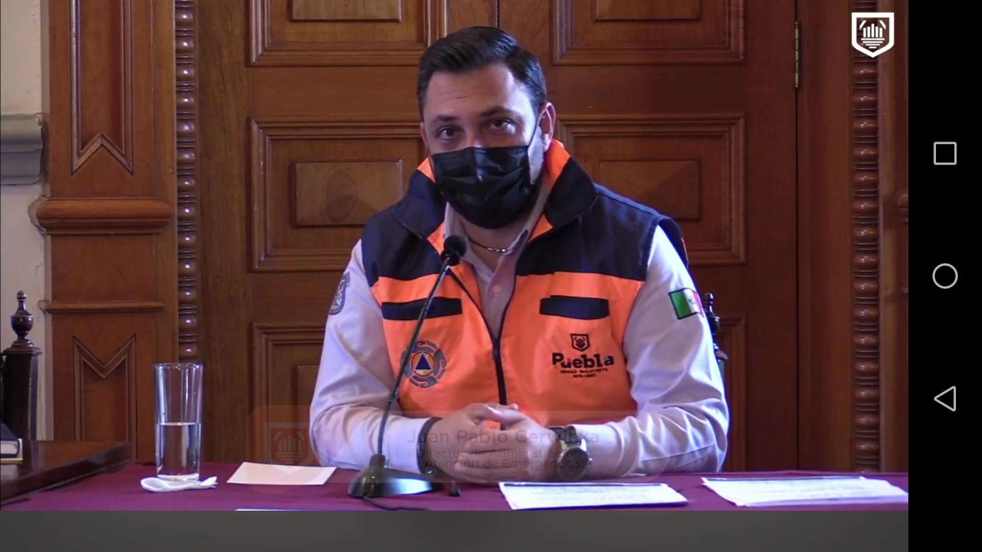 Protección Civil municipal retiró gente de 3 panteones y desactivó 5 fiestas particulares: Juan Pablo Cerwinka