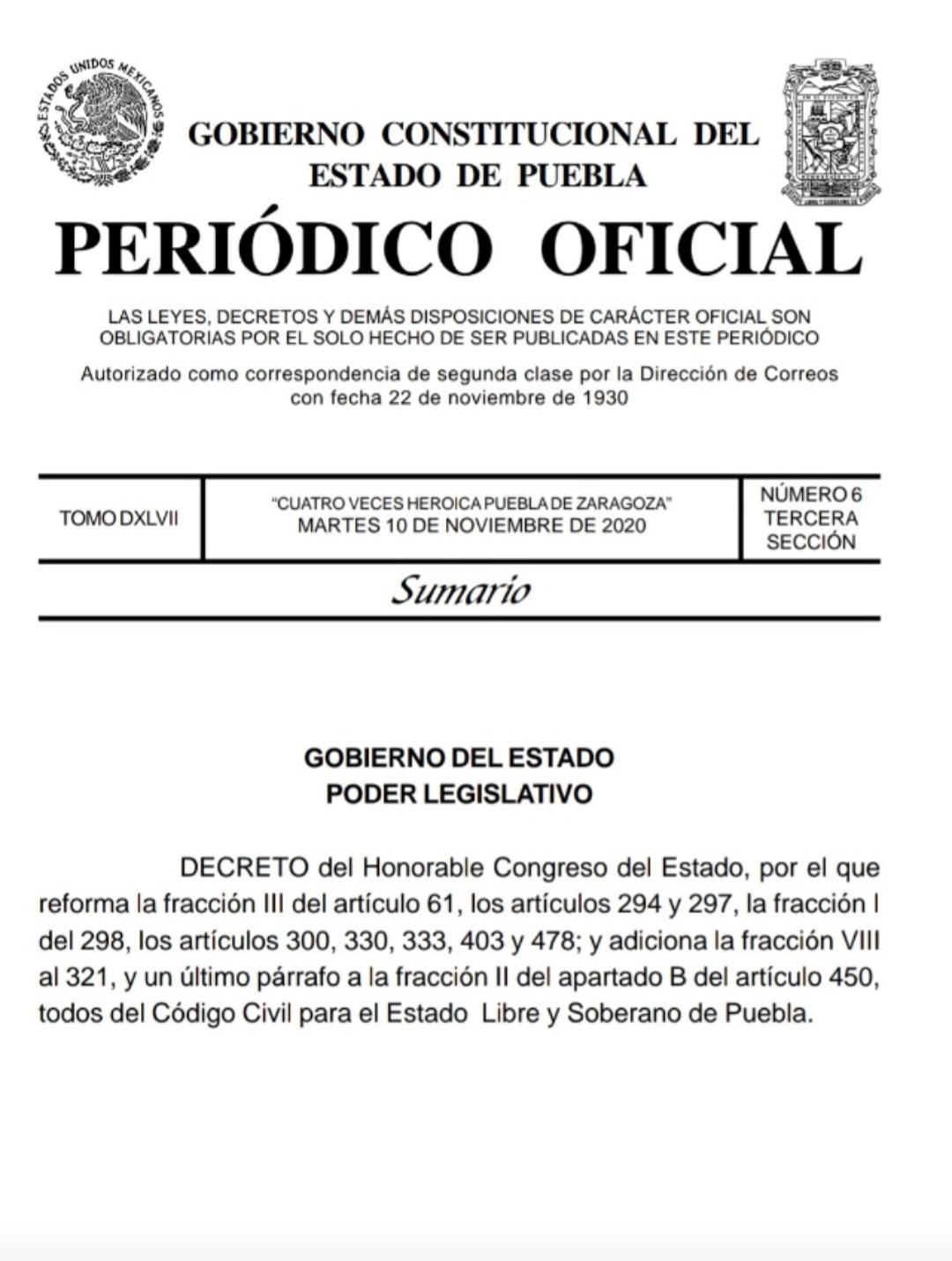Ya es legal el matrimonio entre personas del mismo sexo en Puebla